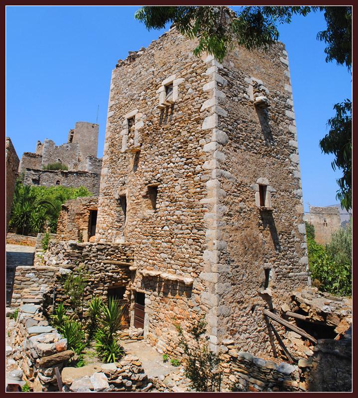 Un torre-casa en mani-Peloponese -Grecia