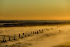 un tramonto islandese
