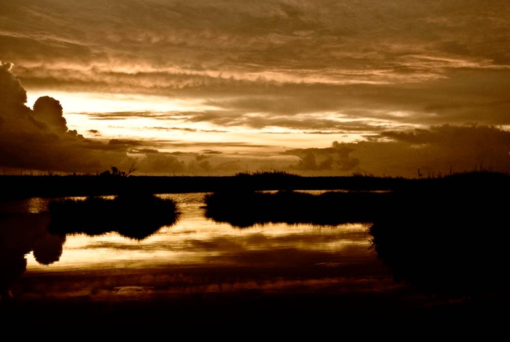 Un tramonto, solo un tramonto.