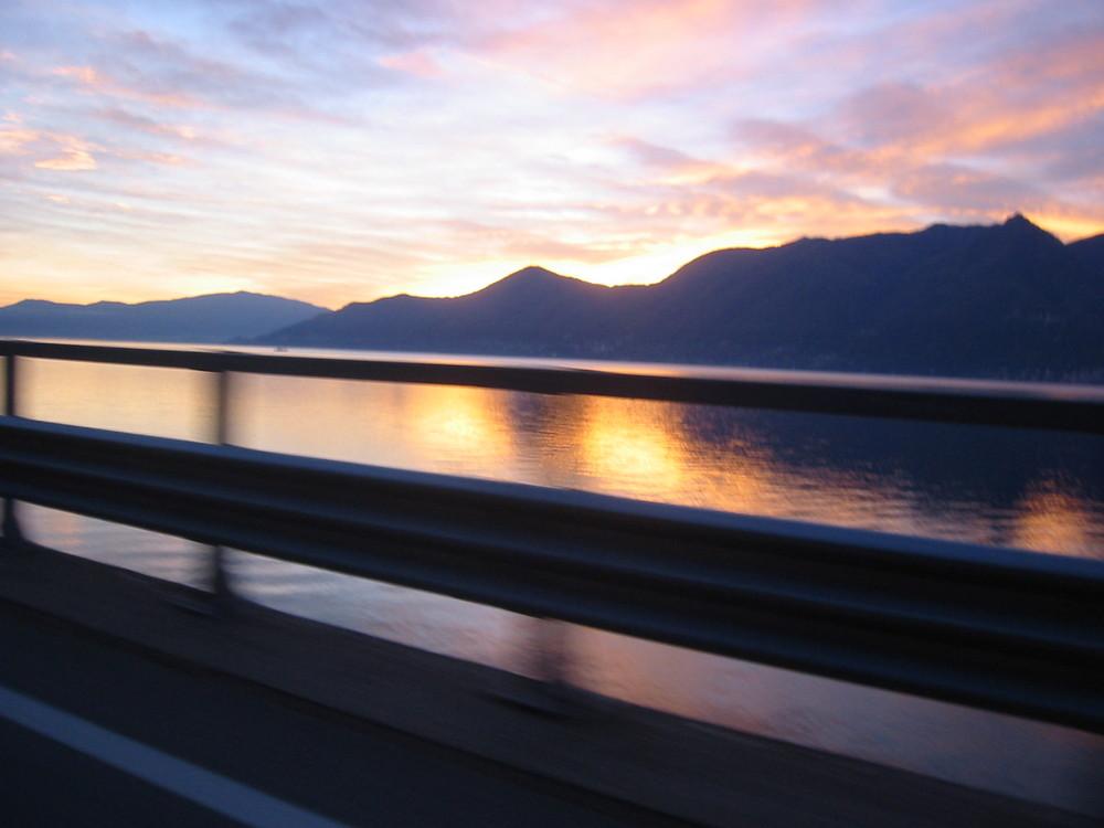 un tramonto...veloce