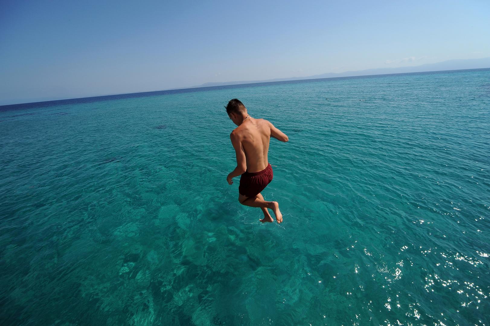 Un tuffo nell'Egeo