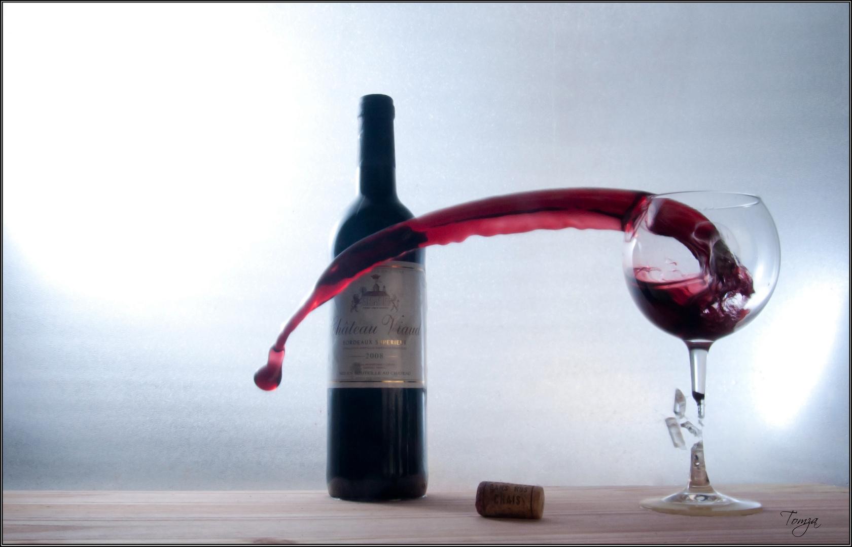 Un vin qui casse des verres...