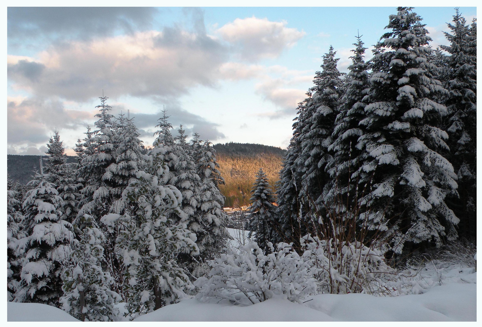 Un vrai temps d'hiver !