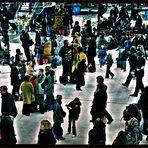 Un weekend à Paris - arrivée à la Gare de Lyon