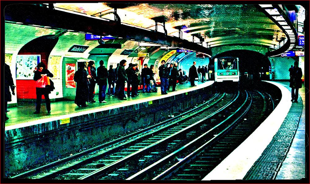 Un weekend à Paris - Metro