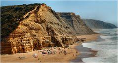 Una bella spiaggia...S. Julião.