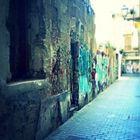 Una calle en el viejo barrio