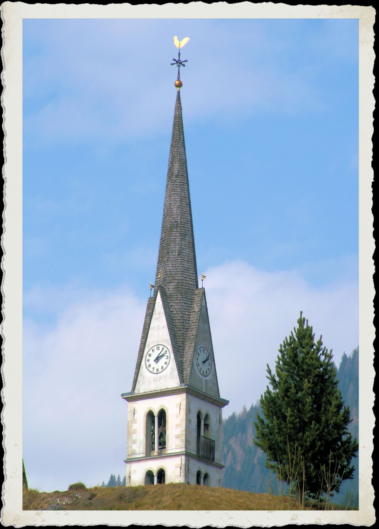 Una cartolina alpina....