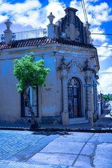Una casa estilo español churrigueresco (?)