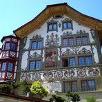 una casa tipica di Lucerna!!!