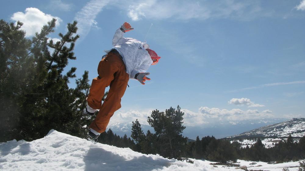 Una esquiada en Font Romeu