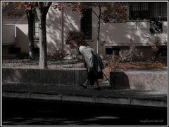 una faticosa passeggiata