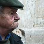 Una fría mañana de domingo en Salamanca. Retrato
