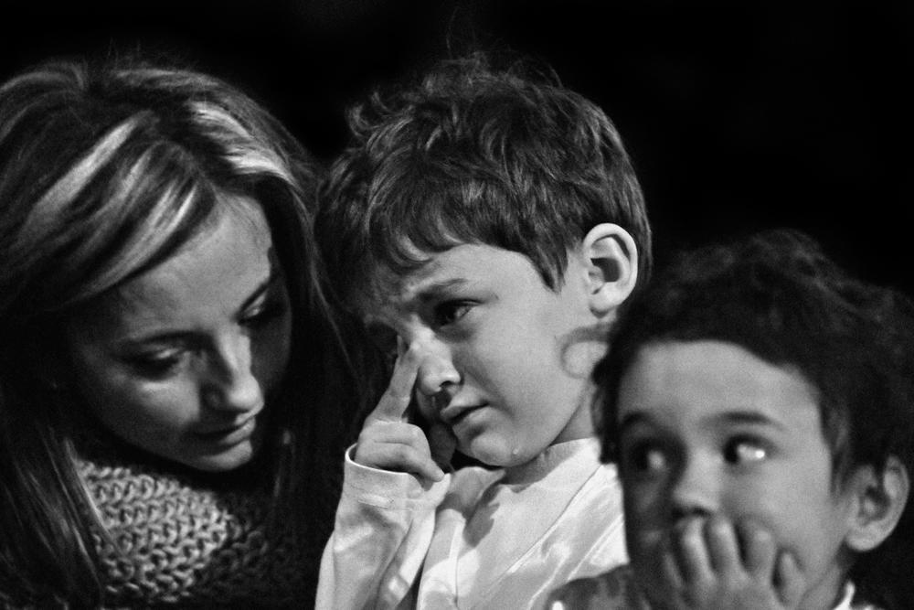 """""""Una lacrima"""" di Gianni Boradori"""