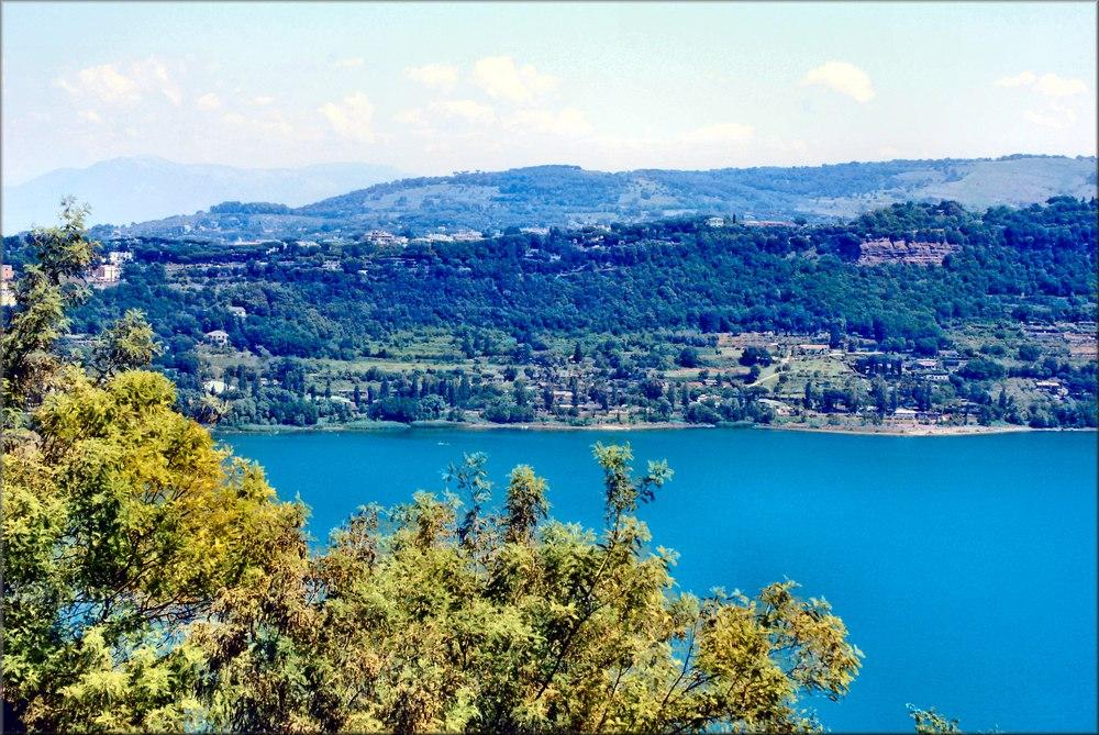 Una mattina vicino al Lago Albano