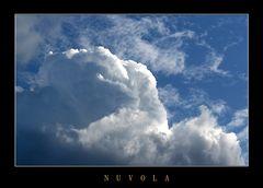 una nuvola..