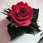 Una rosa de gotelet