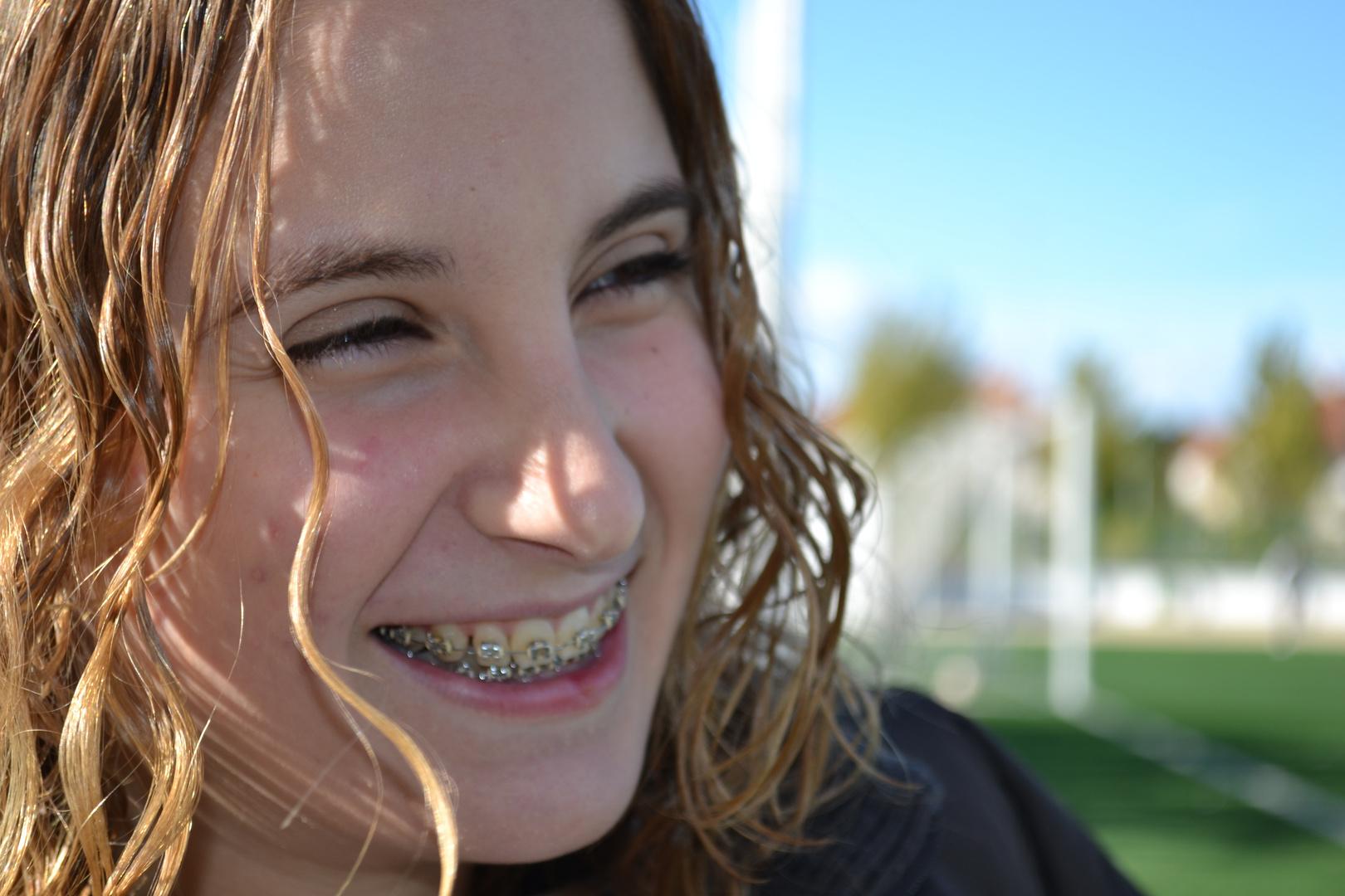Una sonrisa vale más que mil palabras.