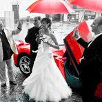 ...Una sposa rosso Ferrari...