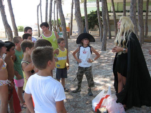 Una strega tra i bambini...
