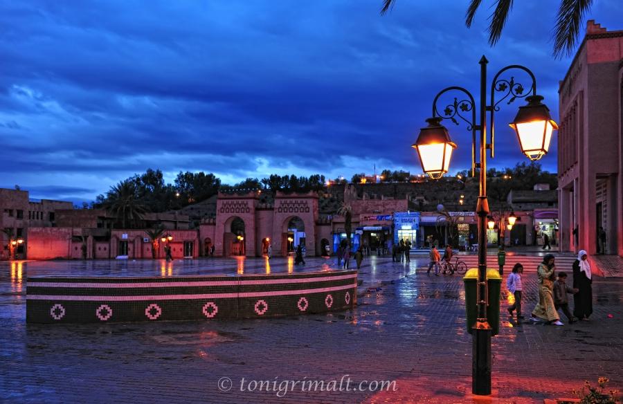 Una tarde en Ouarzazate