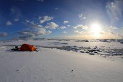 una tenda sul mondo