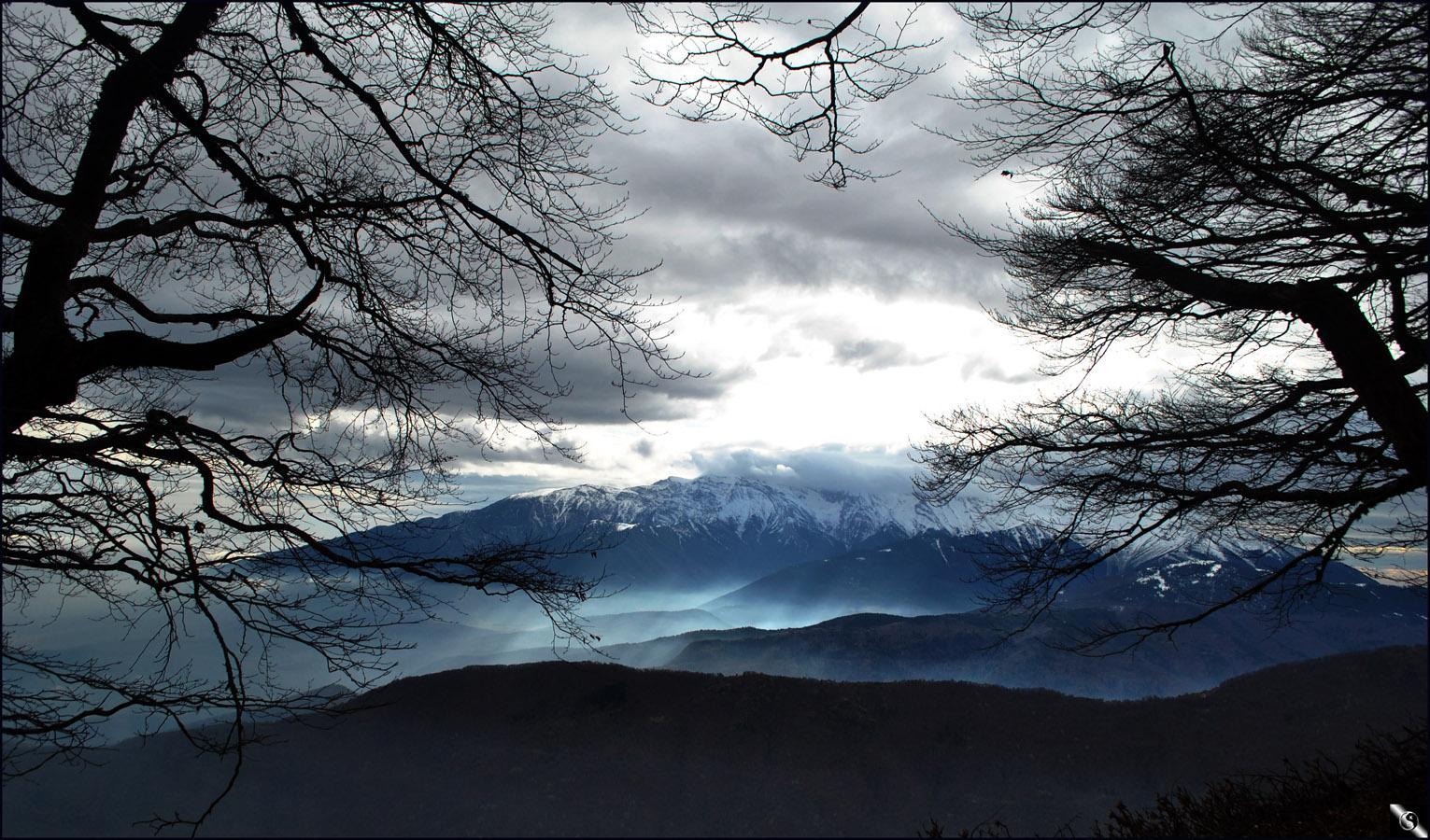 Una vista panoramica desde Grecia