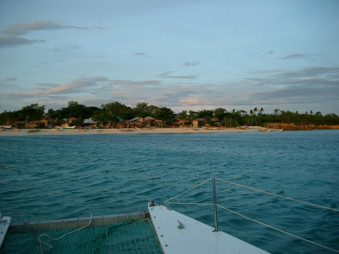 Unbekannte kleine Insel in den Visayas 2