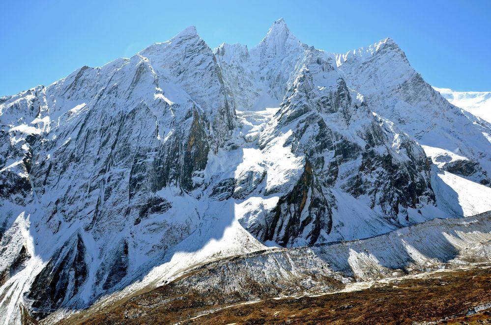 Unbekannter Gipfel in der Manaslu-Region