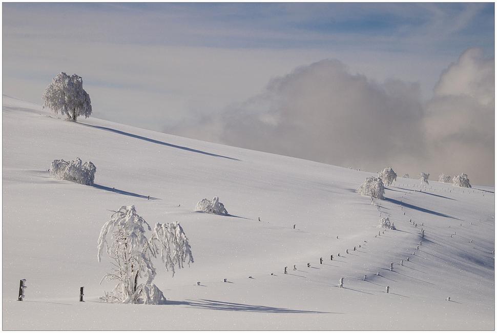 * Unberührte Schneelandschaft *