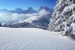 Unberührter Schnee