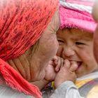 unbeschwertes Lachen