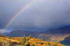 ...und am Ende des Regenbogens liegt ein Topf voller Gold...