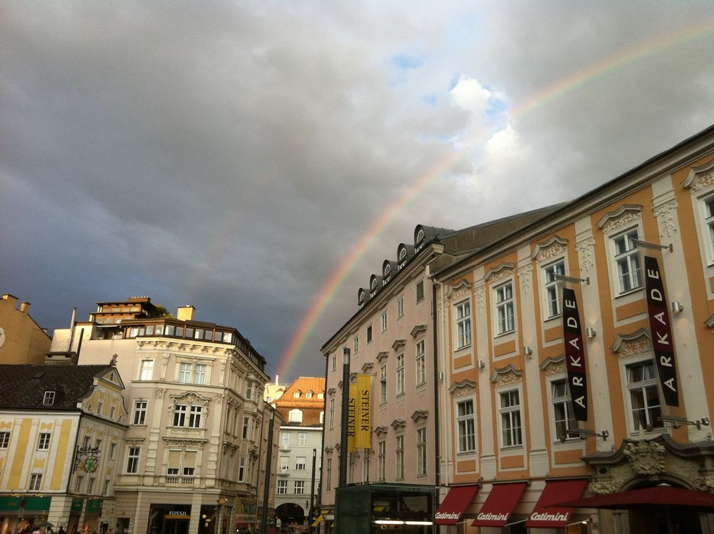 Und am Ende des Regenbogens wartet ...