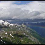 ... und dann auch noch mit Regenbogen ...