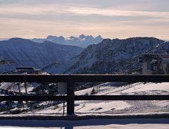 ... und dann der Blick ins Dachstein -    Massiv