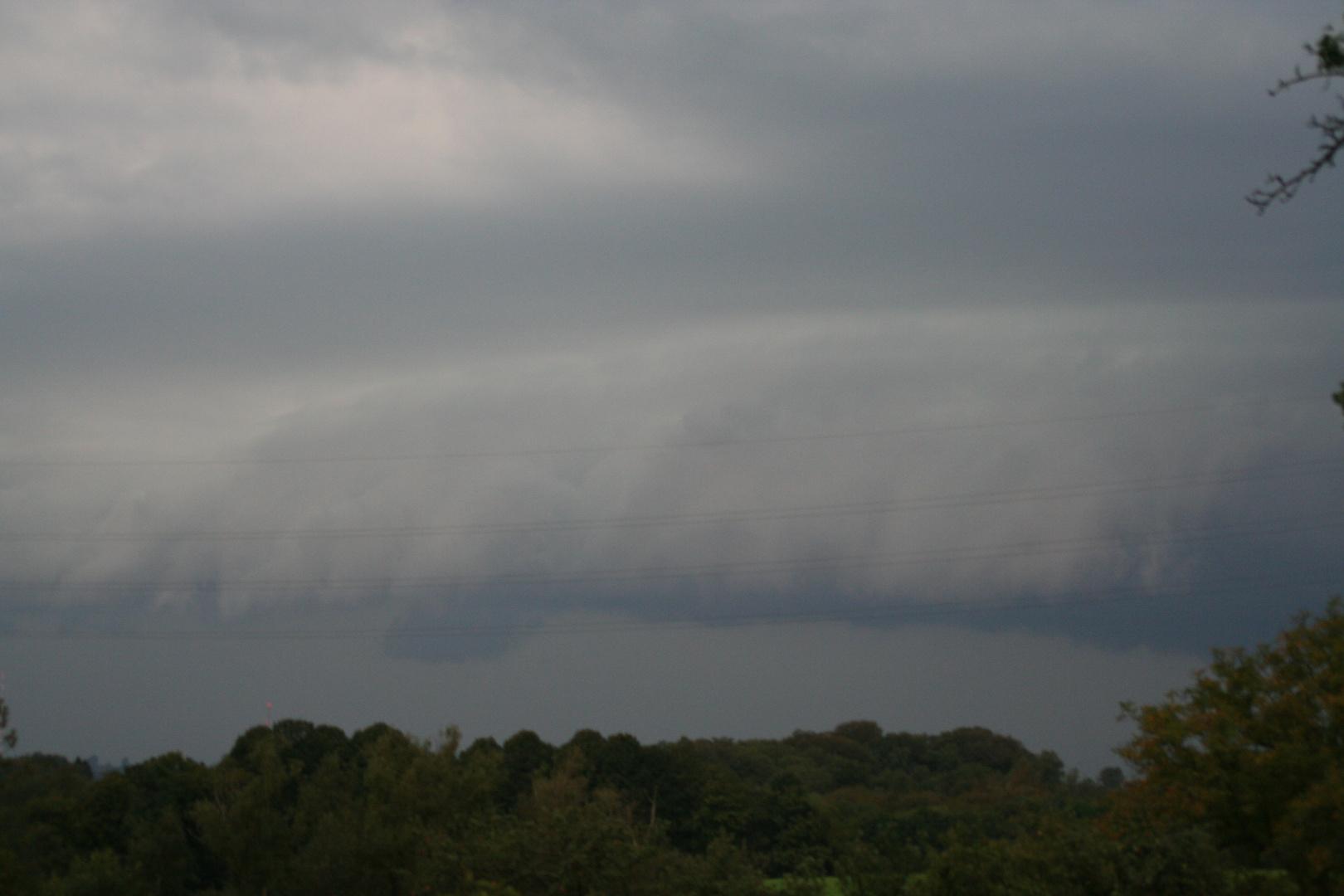 und dann kam der Sturm