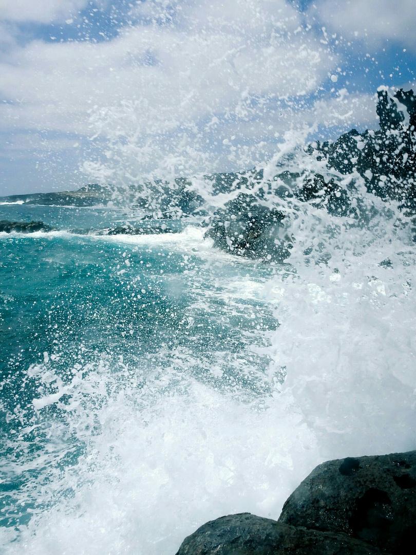 Und dann kam die Welle