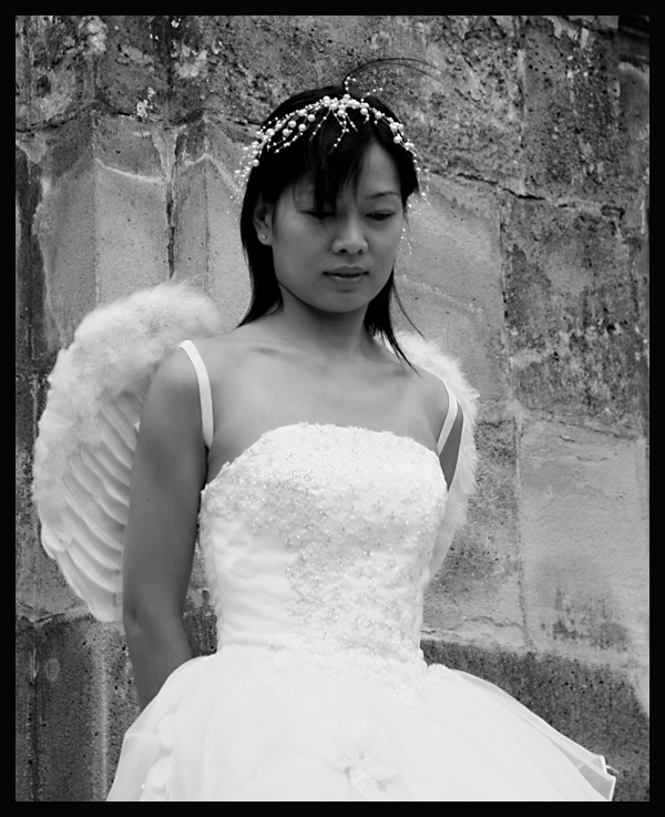 ....und dann kam ein Engel vorbei