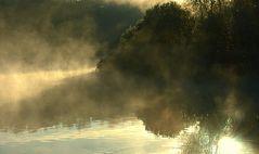 ...und dann plötzlich fing der See an zu kochen... - Lübars/ Köppchensee (3. der Serie)