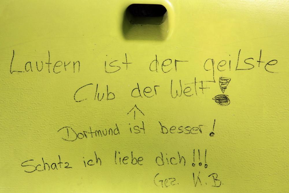 und das im Münchner Olympiastadion :-)))