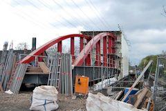 und das ist die Brücke von gut 3 Wochen