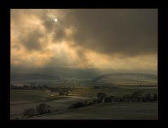 ...und der Himmel verfinsterte sich... - Hommage à Rembrandt