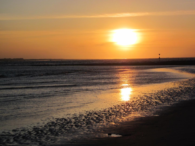 Und der Sonnenuntergang
