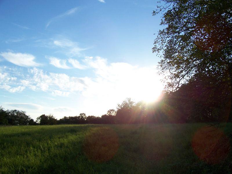 Und die Sonne ging unter.....