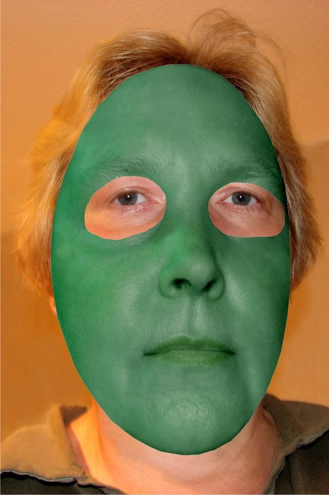 ...und eine Maske zum Auswchseln