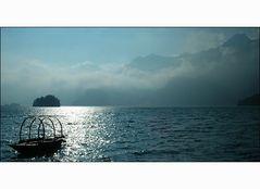 Und einsam schaukelt das Boot..