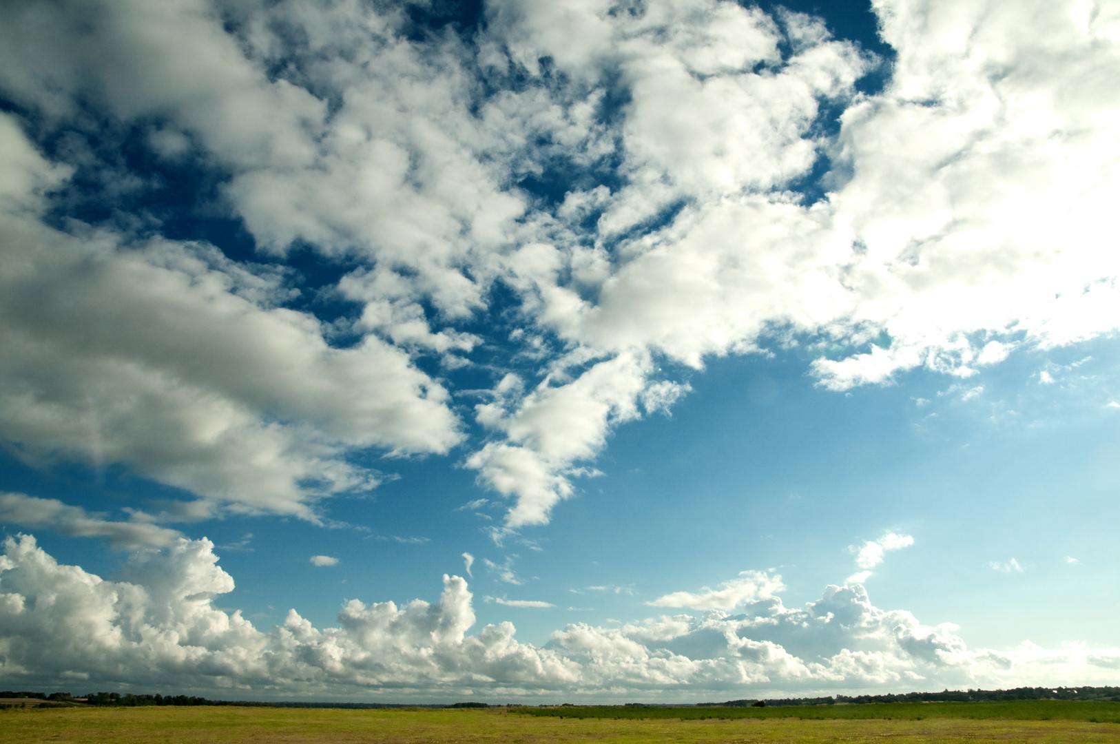 ...und ganz viel Himmel