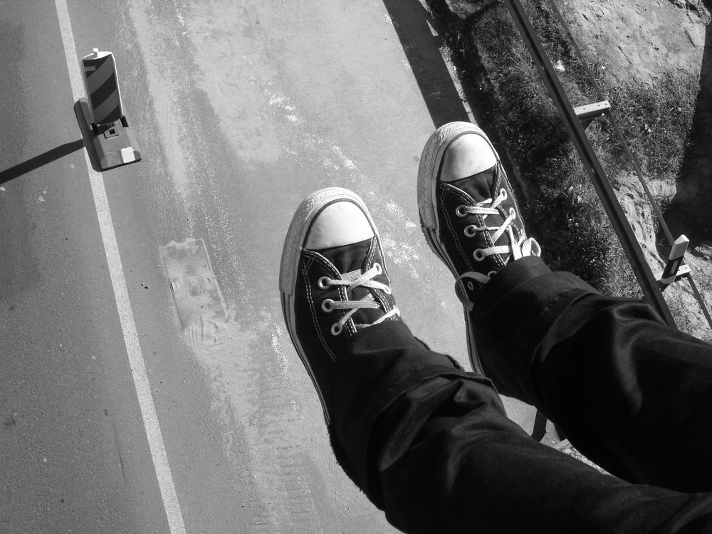 ...und ich springe...