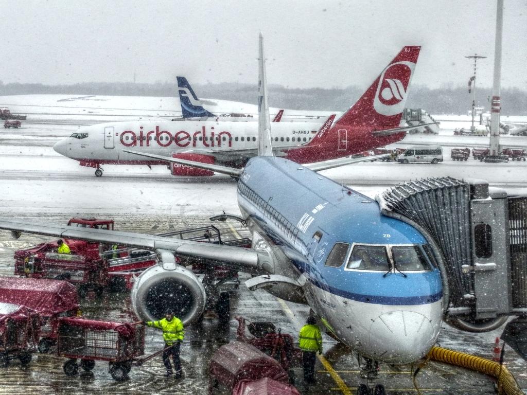 und immer noch Winter in Hamburg